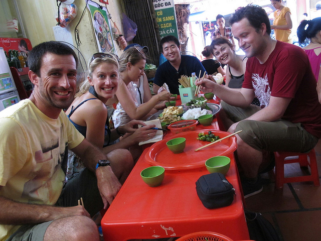 Private food walking tour - vietnam holiday