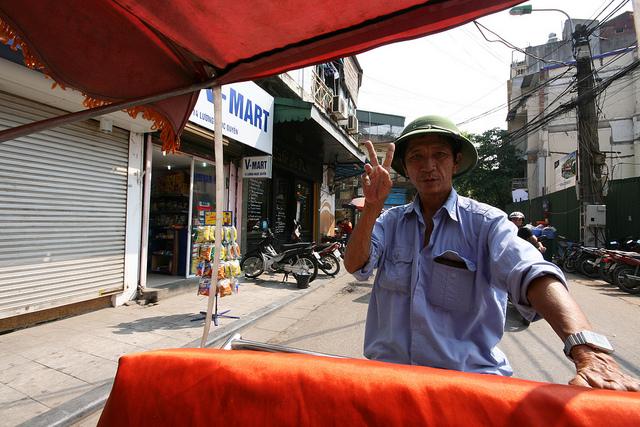 Cyclo ride vietnam holiday