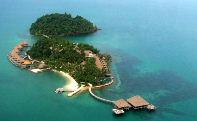 Private island of Song Saa, Cambodia