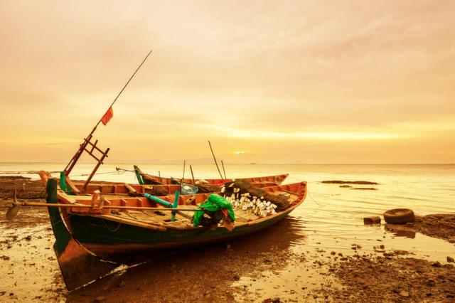 kep sunset cambodia holiday