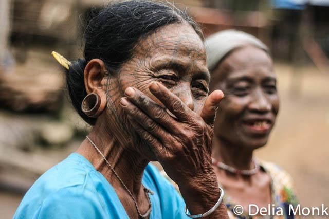 excursion tattooed women burma myanmar