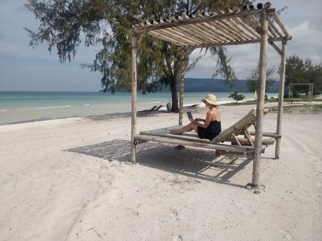 royal sands koh rong cambodia beach holiday