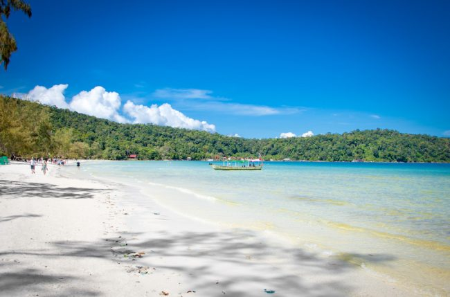 koh rong samloem island cambodia beach holiday