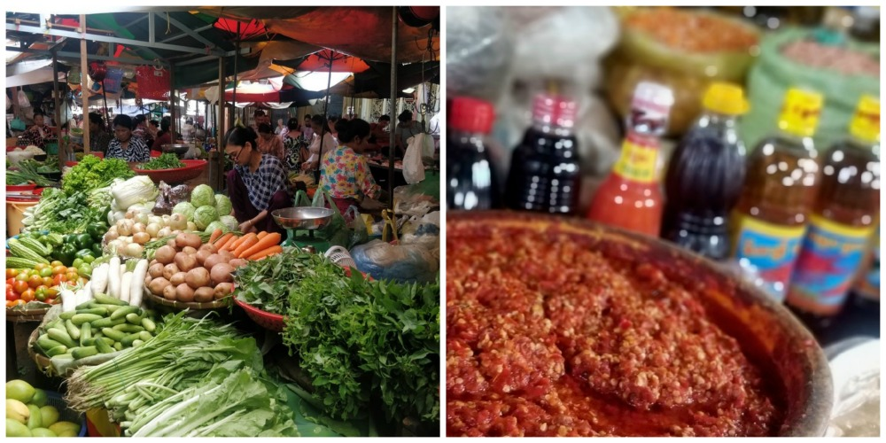 market food tour phnom penh